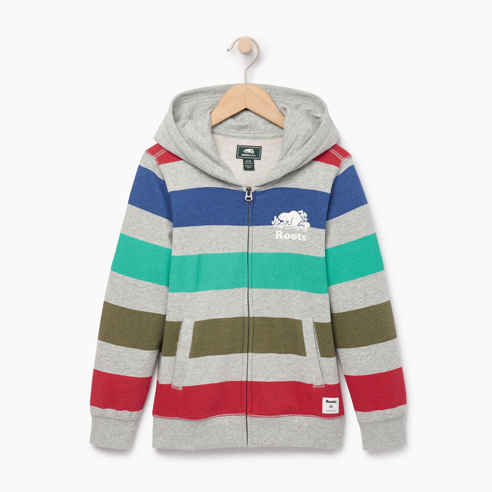 Roots-undefined-Boys Ombre Stripe Full Zip Hoody-undefined-A