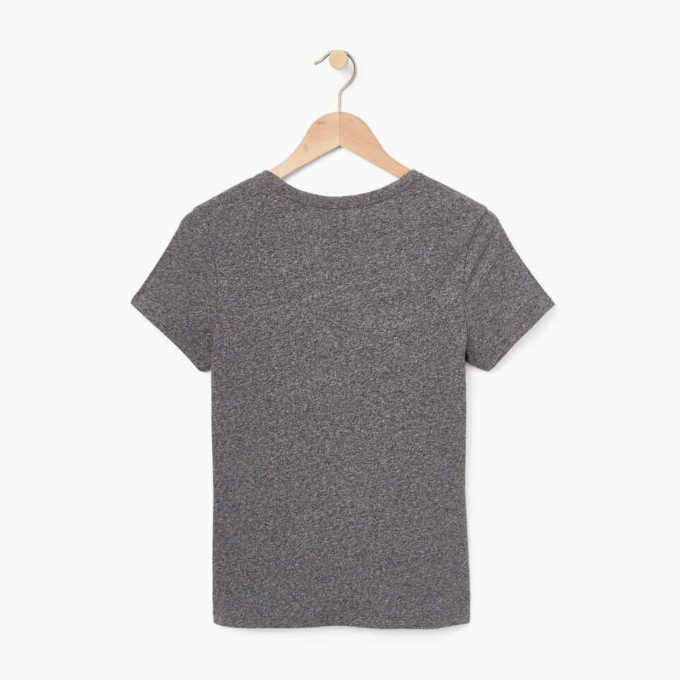 Roots-undefined-Womens Applique Slim T-shirt-undefined-B