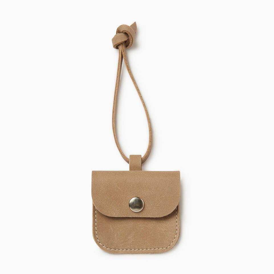 Roots-Leather  Handcrafted By Us Our Favourite New Arrivals-Leather Tie Pouch-Sand-A