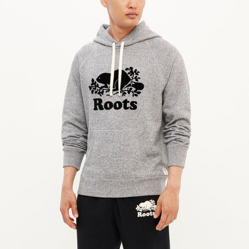 65b8dd8d5ddd3 Roots-Men Sweatshirts   Hoodies-Roots Salt and Pepper Original Kanga Hoody -Salt