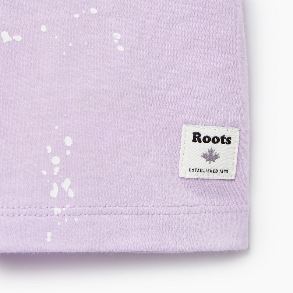 Roots-undefined-Baby Splatter Aop T-shirt-undefined-C