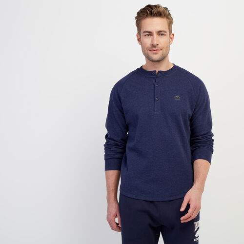 Roots-Men Our Favourite New Arrivals-Sun Peaks Thermal Henley-Navy Blazer Mix-A