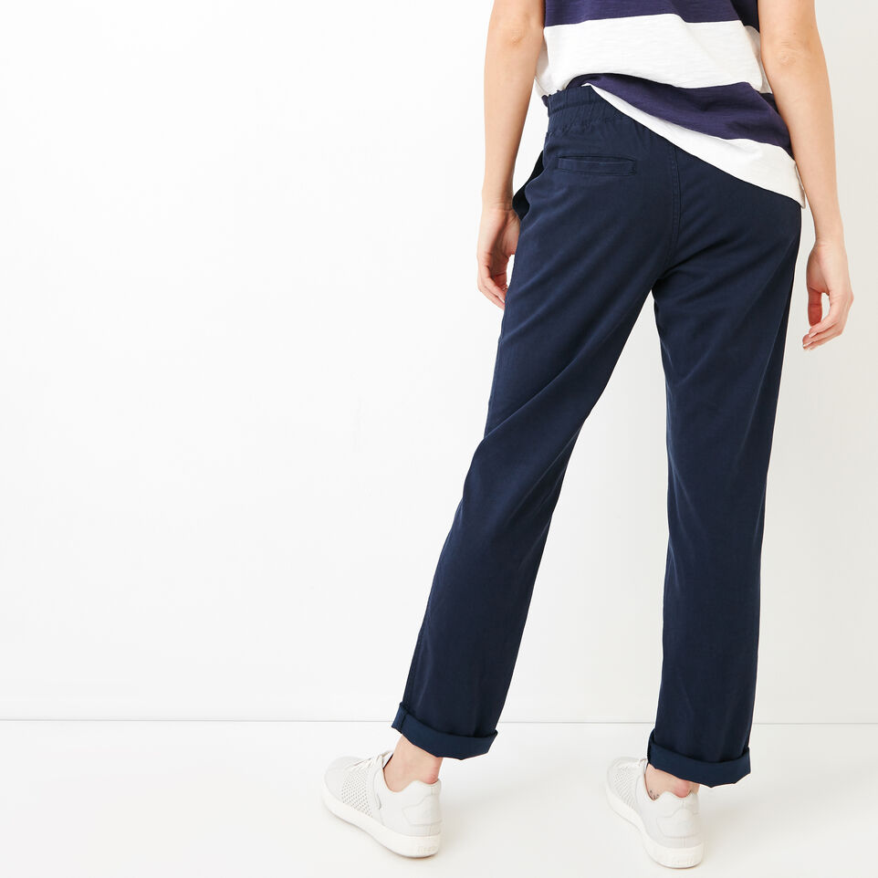 Roots-Women Categories-Essential Pant-Navy Blazer-D