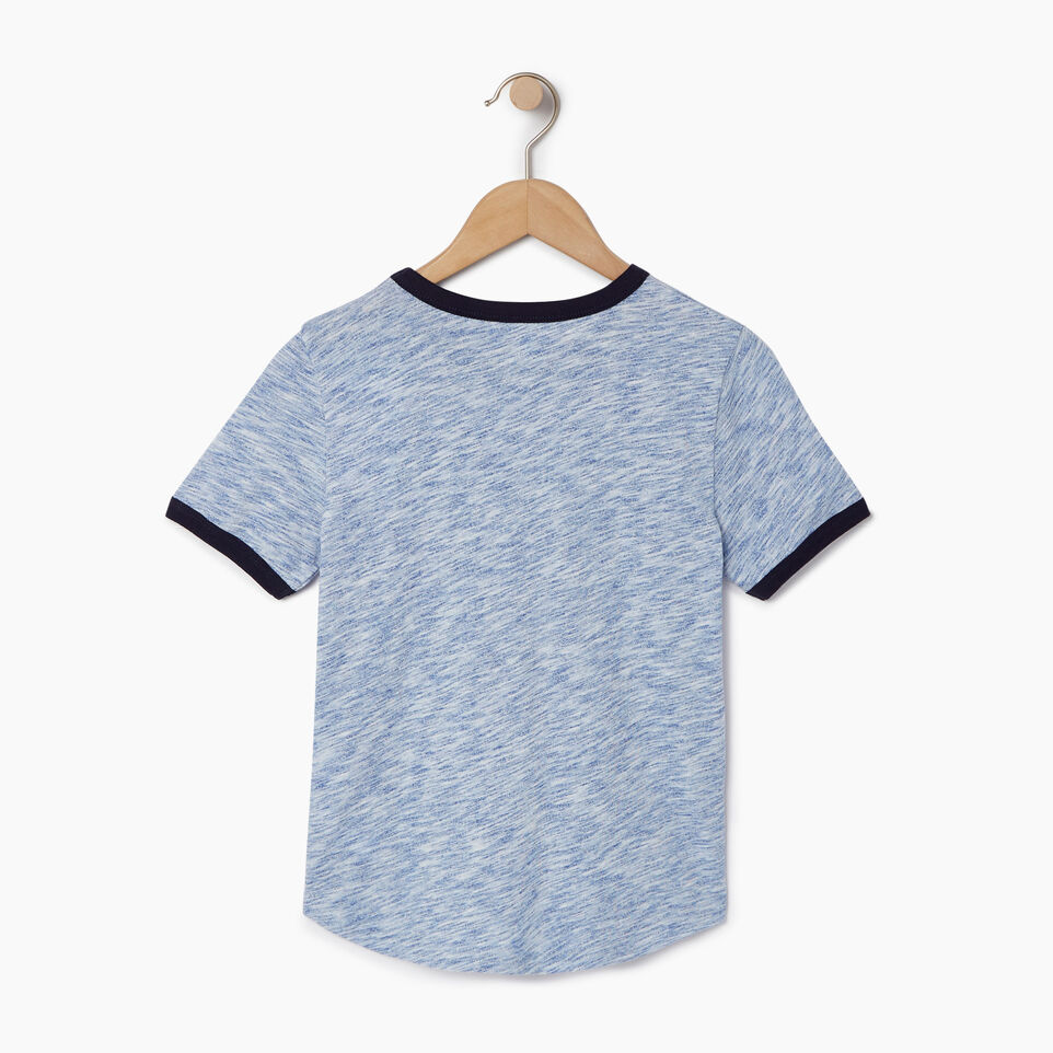 Roots-undefined-Boys Roots Space Dye T-shirt-undefined-B