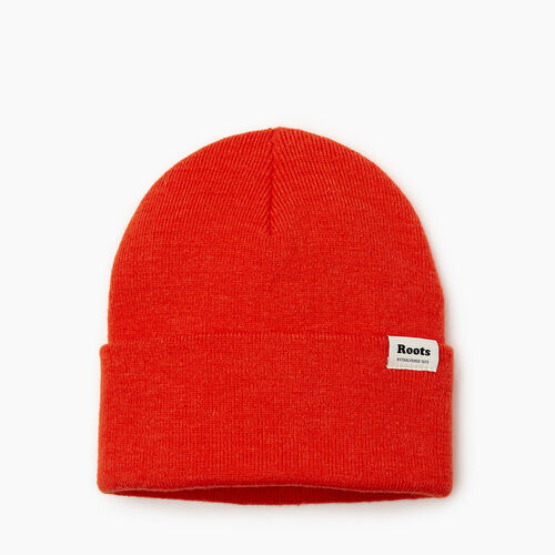 Roots-Women Categories-Bracebridge Toque-Spicy Orange-A