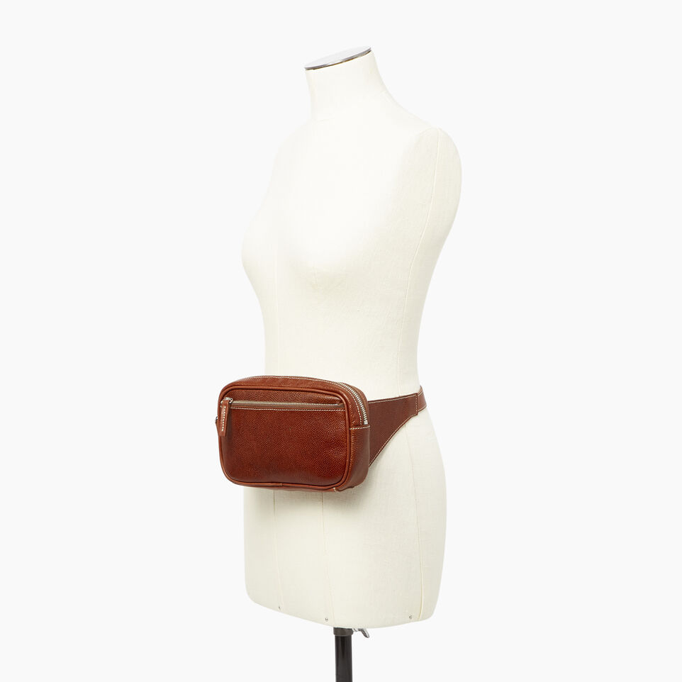 Roots-Leather Our Favourite New Arrivals-Roots Belt Bag Horween-Cognac-B