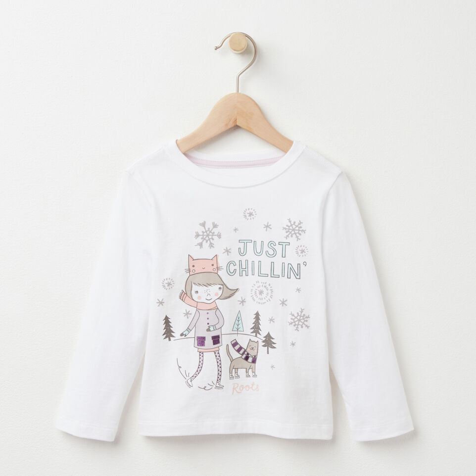Roots-undefined-Toddler Little Loxley Chillin' T-shirt-undefined-A
