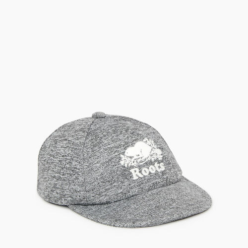 Roots-Kids Our Favourite New Arrivals-Baby Fleece Baseball Cap-Salt & Pepper-A