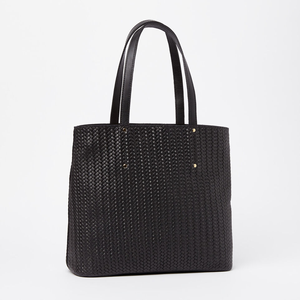 Roots-undefined-Downtown Zip Tote Woven Tribe-undefined-C