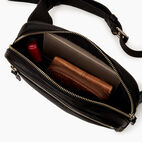 Roots-Leather  Handcrafted By Us Mini Leather Handbags-Roots Belt Bag-Black-D