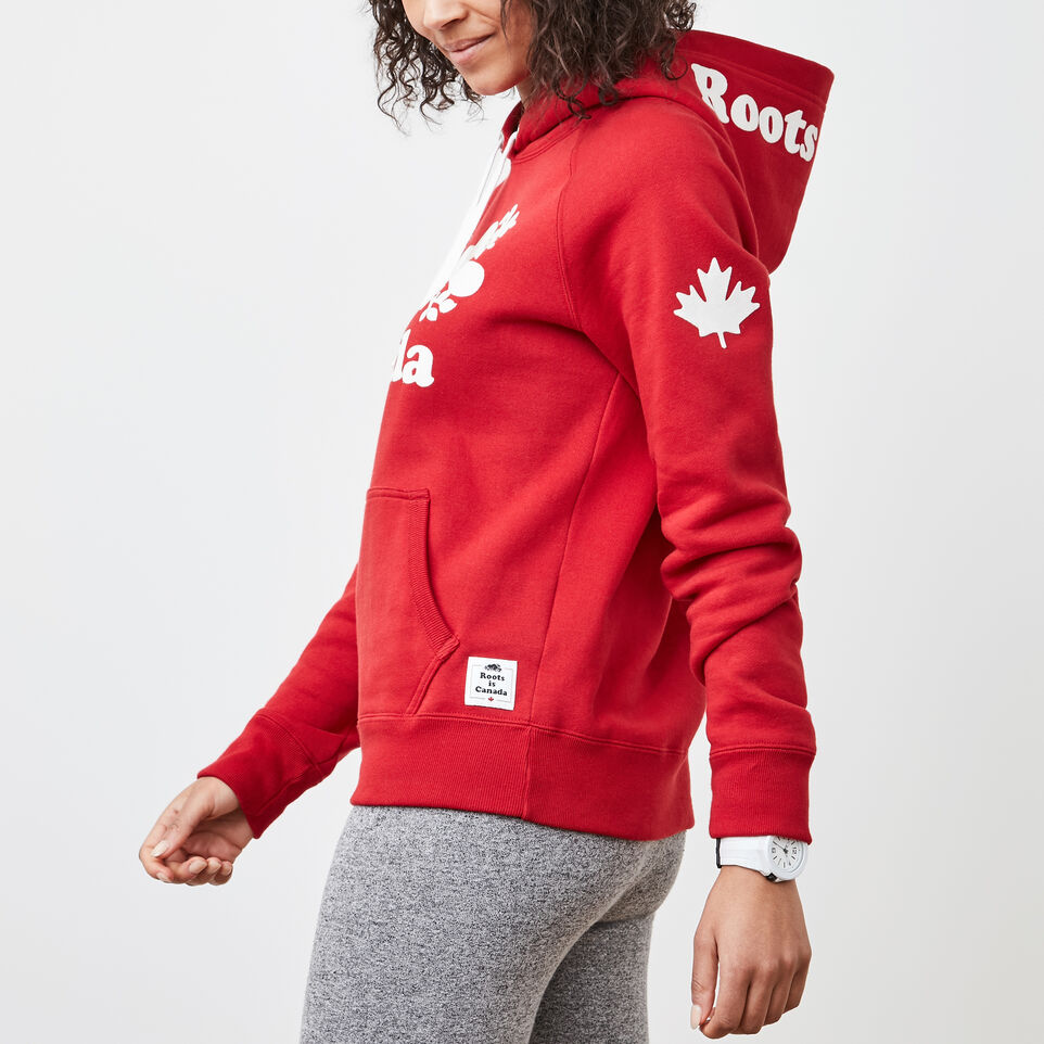 Roots-undefined-Womens Cooper Canada Kanga Hoody-undefined-B