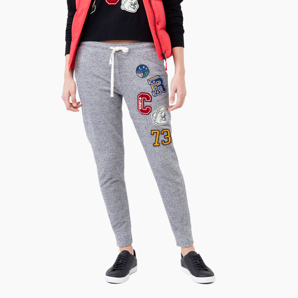 Roots-Varsity Patches Slim Jogger