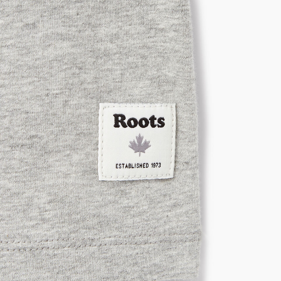 Roots-New For March Daily Offer-Womens Cooper Beaver Stripe T-shirt-Grey Mix-C