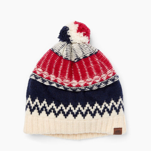 Roots-Clearance Women-Tundra Fair Isle Toque-Multi-A