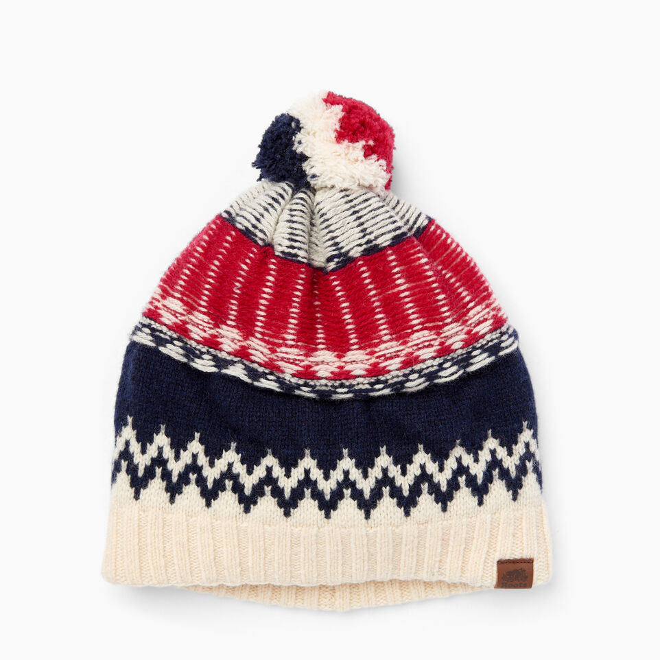 Roots-Women Our Favourite New Arrivals-Tundra Fair Isle Toque-Multi-A