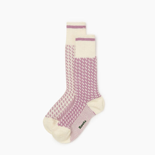 Roots-New For October The Roots Cabin Collection™-Roots 3 Point Cabin Sock 2 Pack-Valerian-A