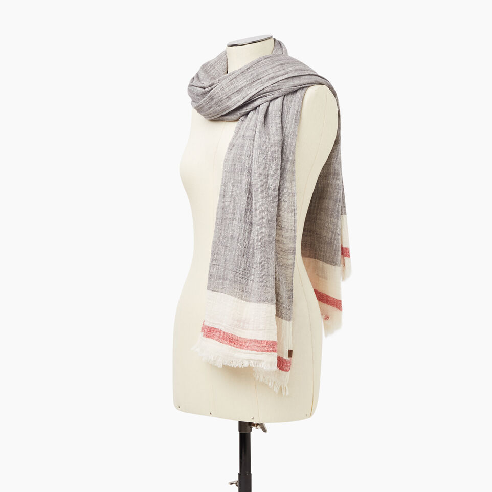 Roots-undefined-Roots Cotton Cabin Scarf-undefined-C