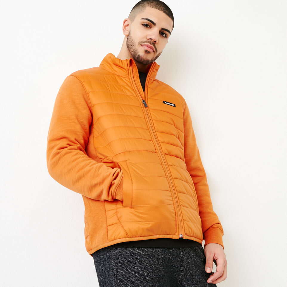 Roots-Men Our Favourite New Arrivals-Roots Hybrid Jacket-Burnt Orange-A