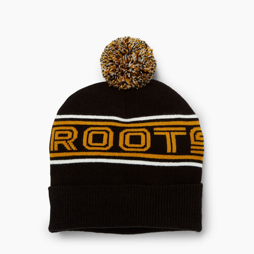 Roots-Winter Sale Accessories-Kinbrook Toque-Black-A