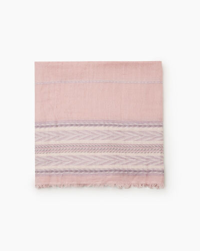 Roots-Women Scarves & Wraps-Summerside Scarf-Pink-A
