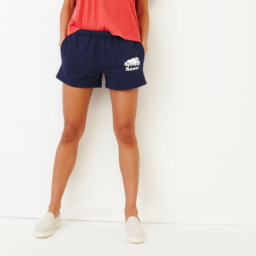Roots-New For June Sweats-Original Sweatshort-Eclipse-A