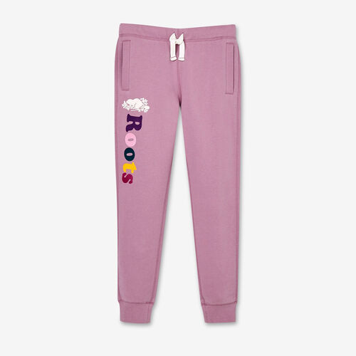 Roots-Kids New Arrivals-Girls Remix Sweatpant-Valerian-A