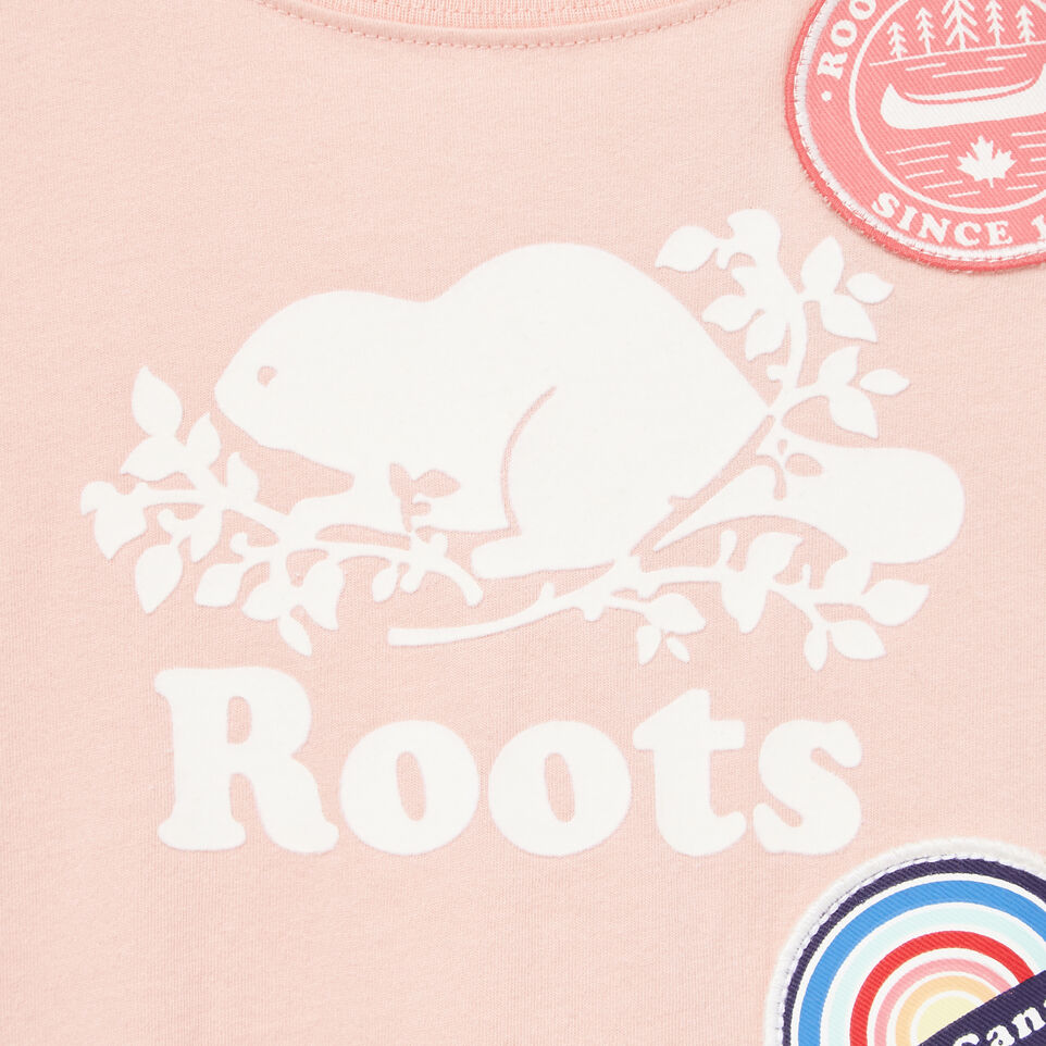 Roots-Kids Our Favourite New Arrivals-Toddler Patches T-shirt-Blossom Pink-D