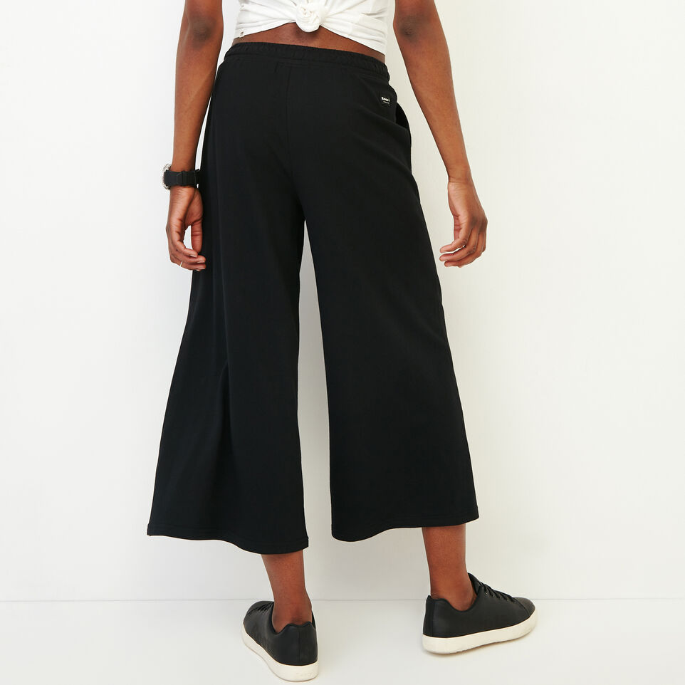 Roots-Women Our Favourite New Arrivals-Summerside Culotte-Black-D