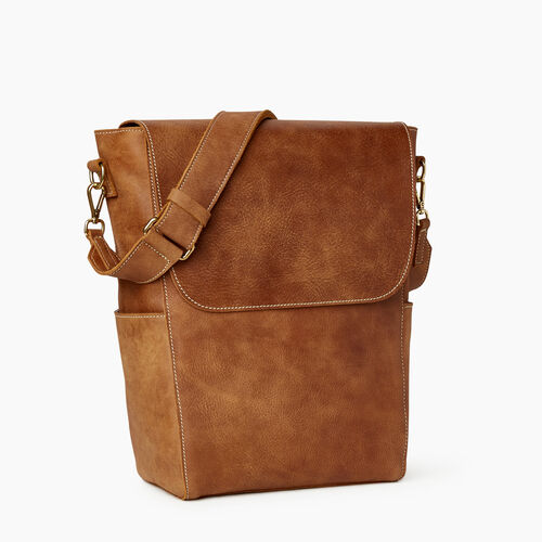 Roots-Leather  Handcrafted By Us Our Favourite New Arrivals-Journey Bag-Natural-A
