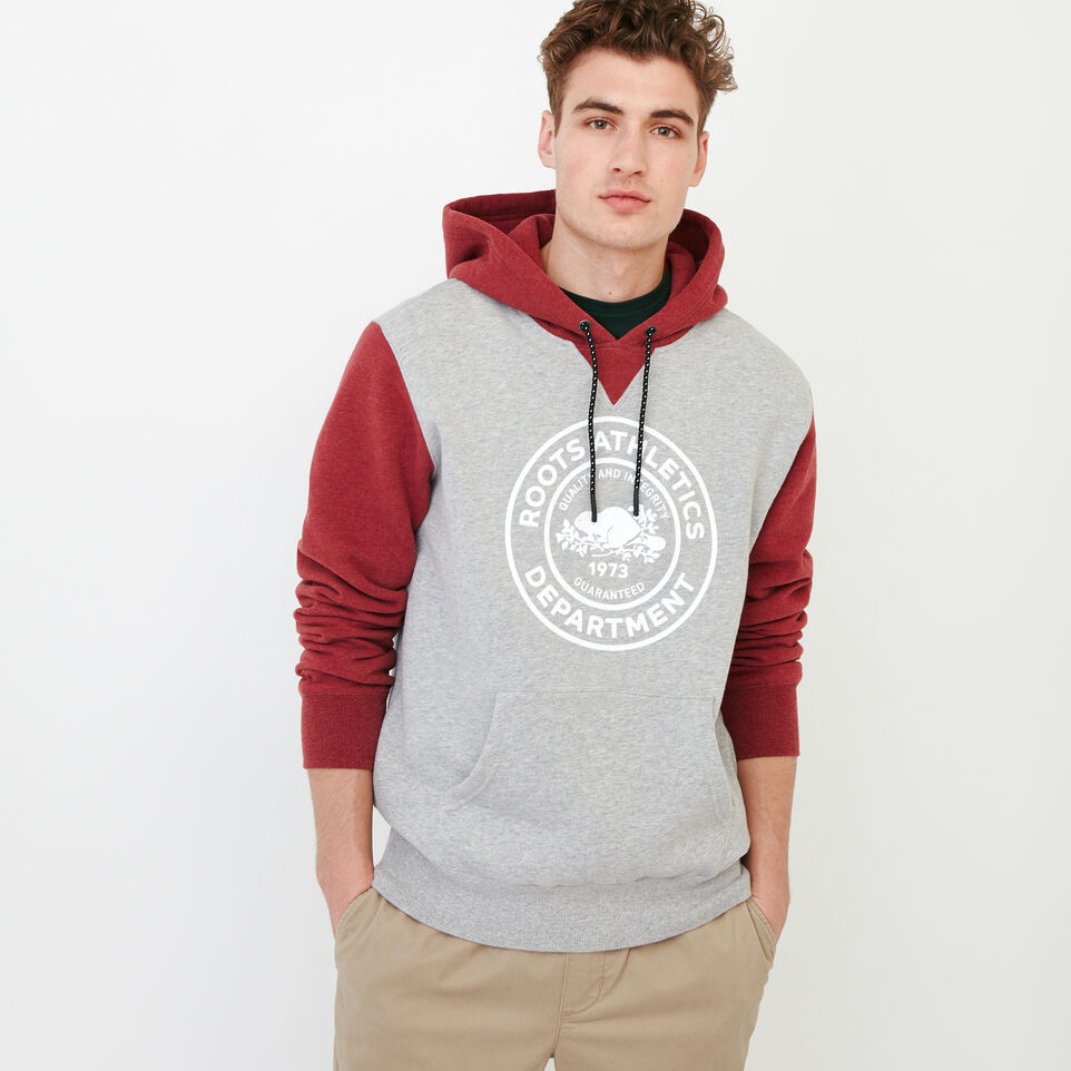 Roots-Men Our Favourite New Arrivals-Athletic Dept. Hoody-Grey Mix-A