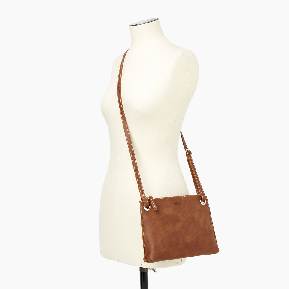 Roots-Leather  Handcrafted By Us Our Favourite New Arrivals-Edie Bag-Natural-B