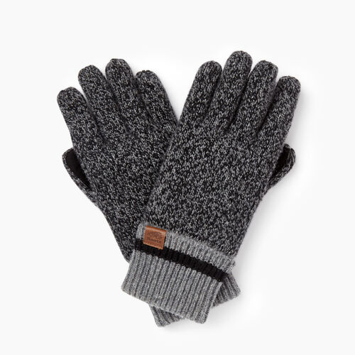 Roots-Gifts Cabin Comfort-Roots Cabin Glove-Black Mix-A
