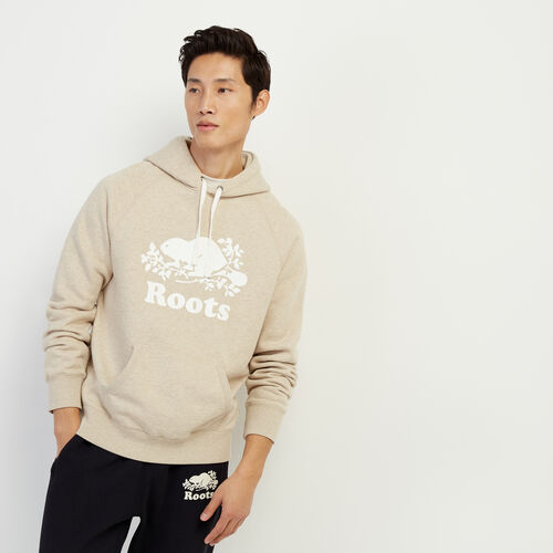 Roots-Men Our Favourite New Arrivals-Original Kanga Hoody-Flaxseed Mix-A