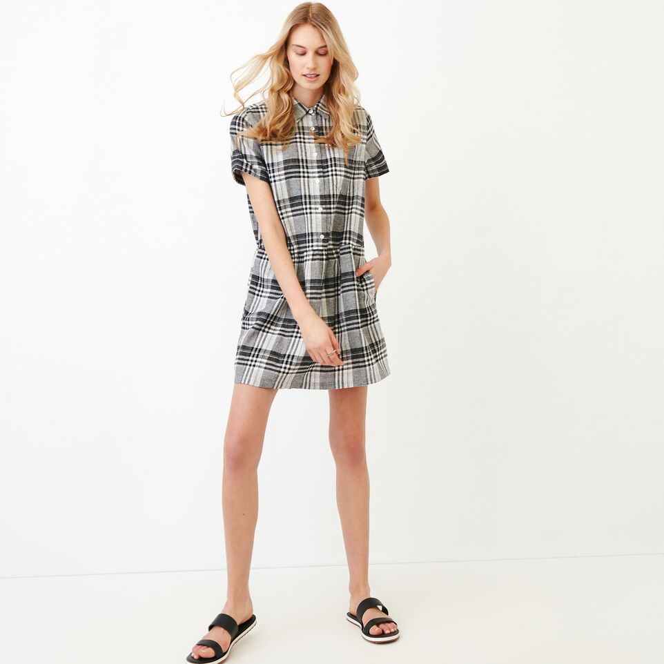 Roots-Women Our Favourite New Arrivals-Hartley Dress-Black-A