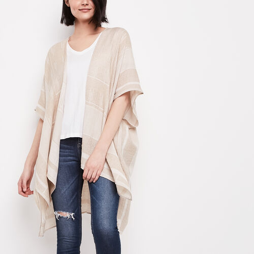 Roots-Sale 30-40% Off-Tayrn Kimono-Linen-A