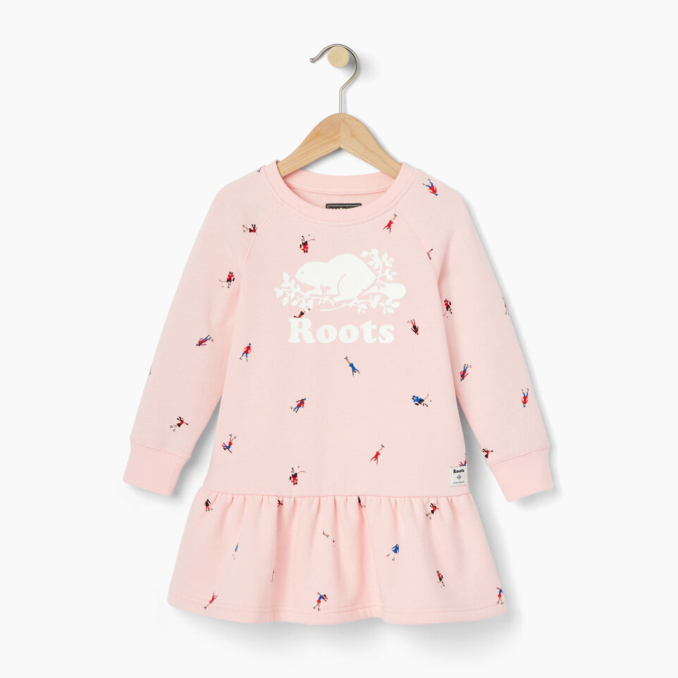 Roots-Kids Our Favourite New Arrivals-Toddler Skater AOP Dress-Light Pink-A