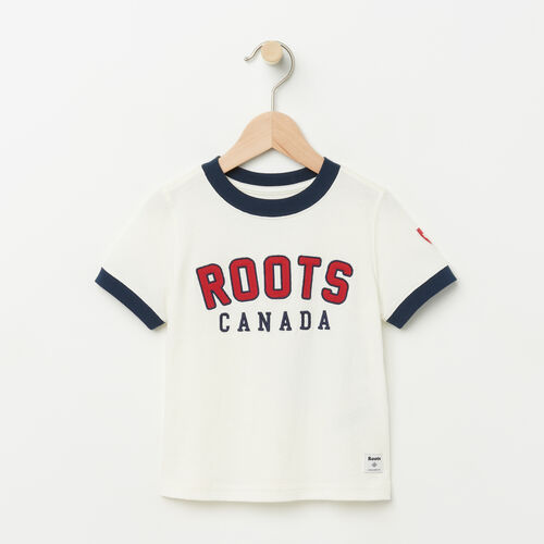 Roots-Sale Toddler-Toddler Sutton Ringer T-shirt-Pristine White-A