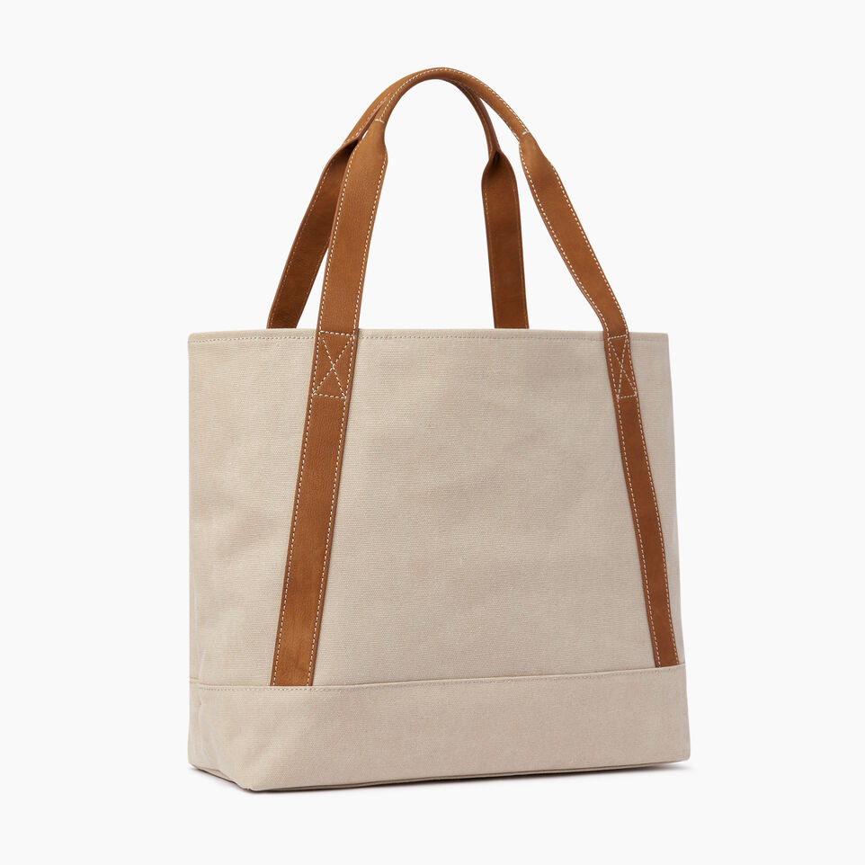 Roots-Women Our Favourite New Arrivals-Muskoka Tote Canvas-Natural-C