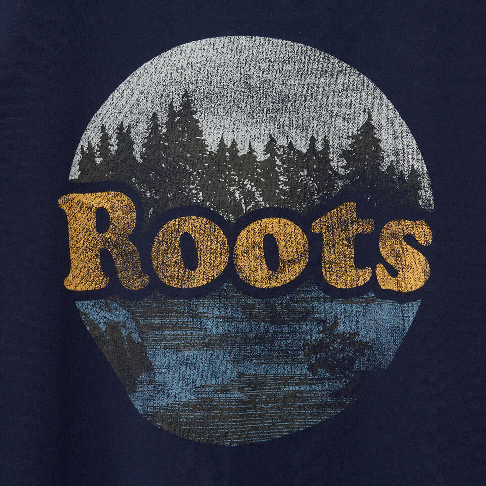 Roots-undefined-Mens Found The Spot T-shirt-undefined-D