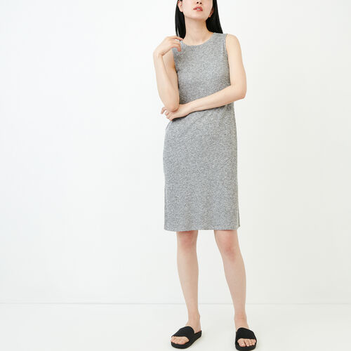 Roots-Women Dresses-Laurena Tank Dress-Salt & Pepper-A