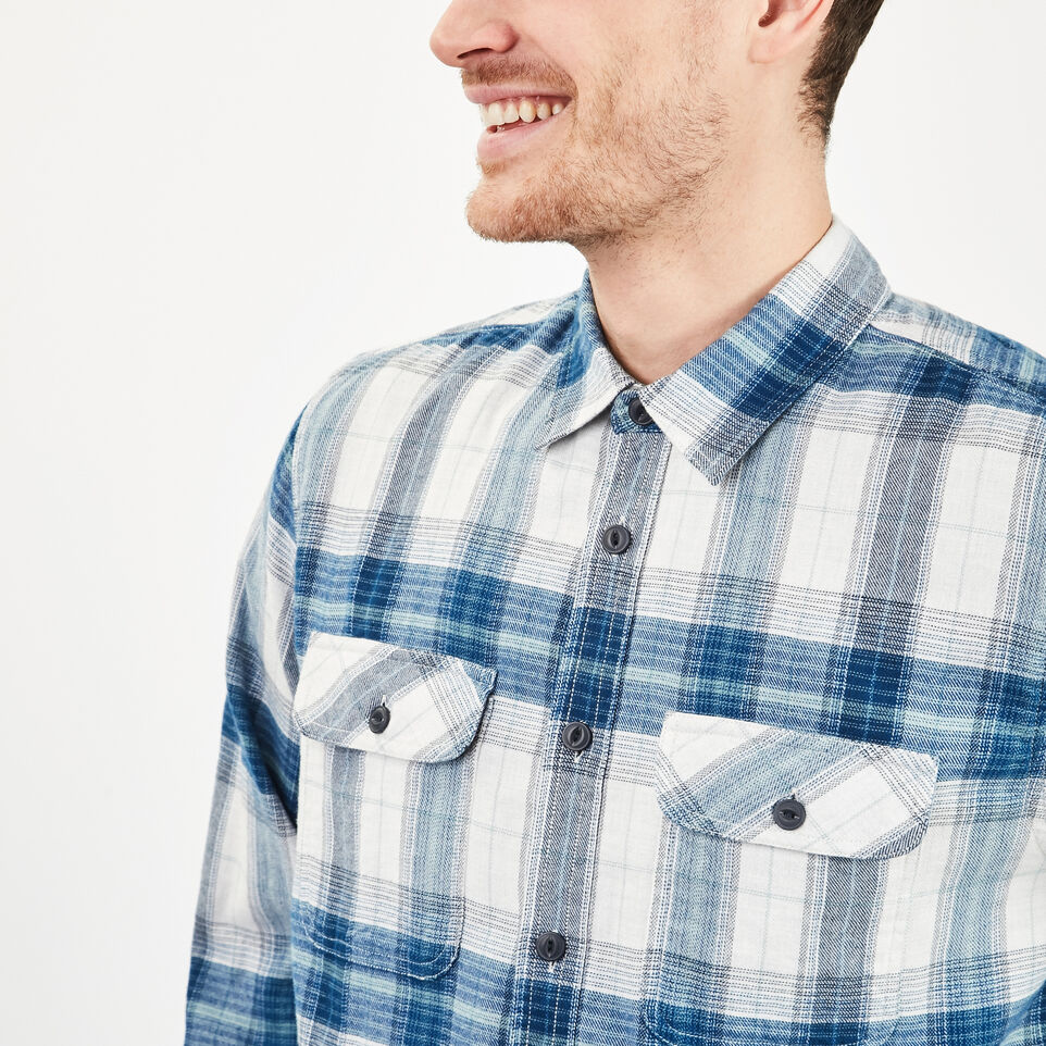 Roots-undefined-Bell River Plaid Shirt-undefined-C