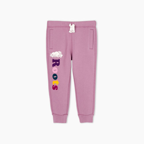 Roots-Kids Toddler Girls-Toddler Remix Sweatpant-Valerian-A