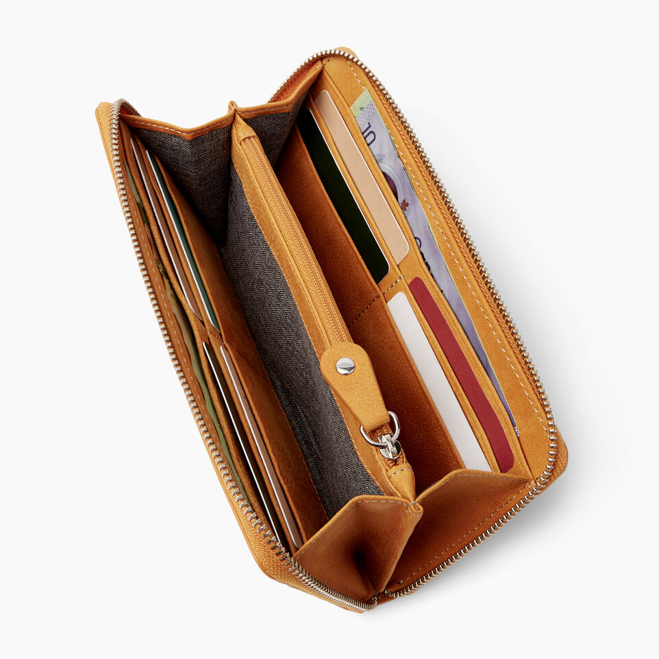 b142e5d09436 Zip Around Wallet Tribe. Roots-Leather Handcrafted By Us Wallets-Zip ...