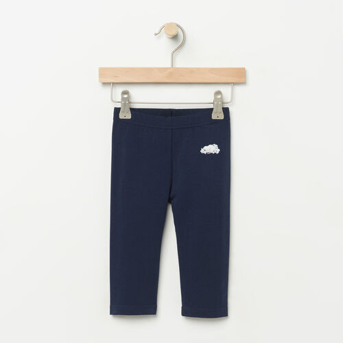 Roots-Kids Bottoms-Toddler Capri Legging-Cascade Blue-A