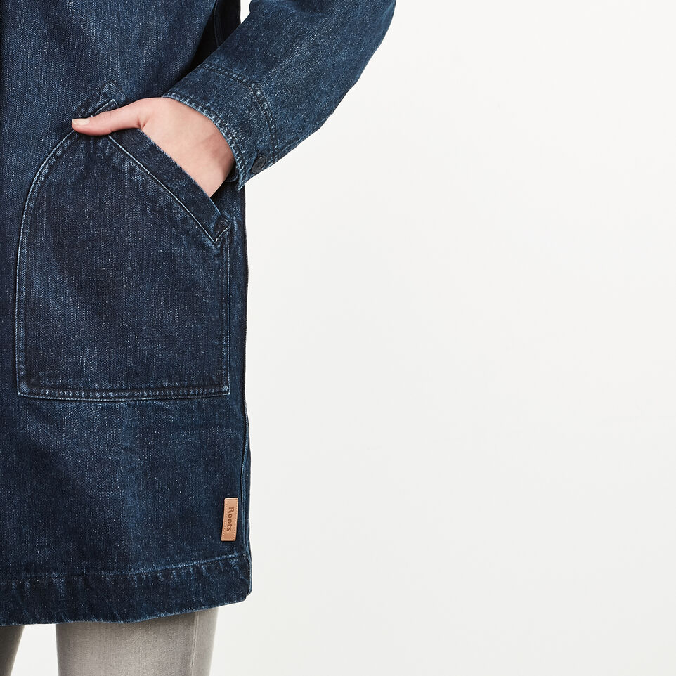 Roots-undefined-Denim Drafting Coat-undefined-F
