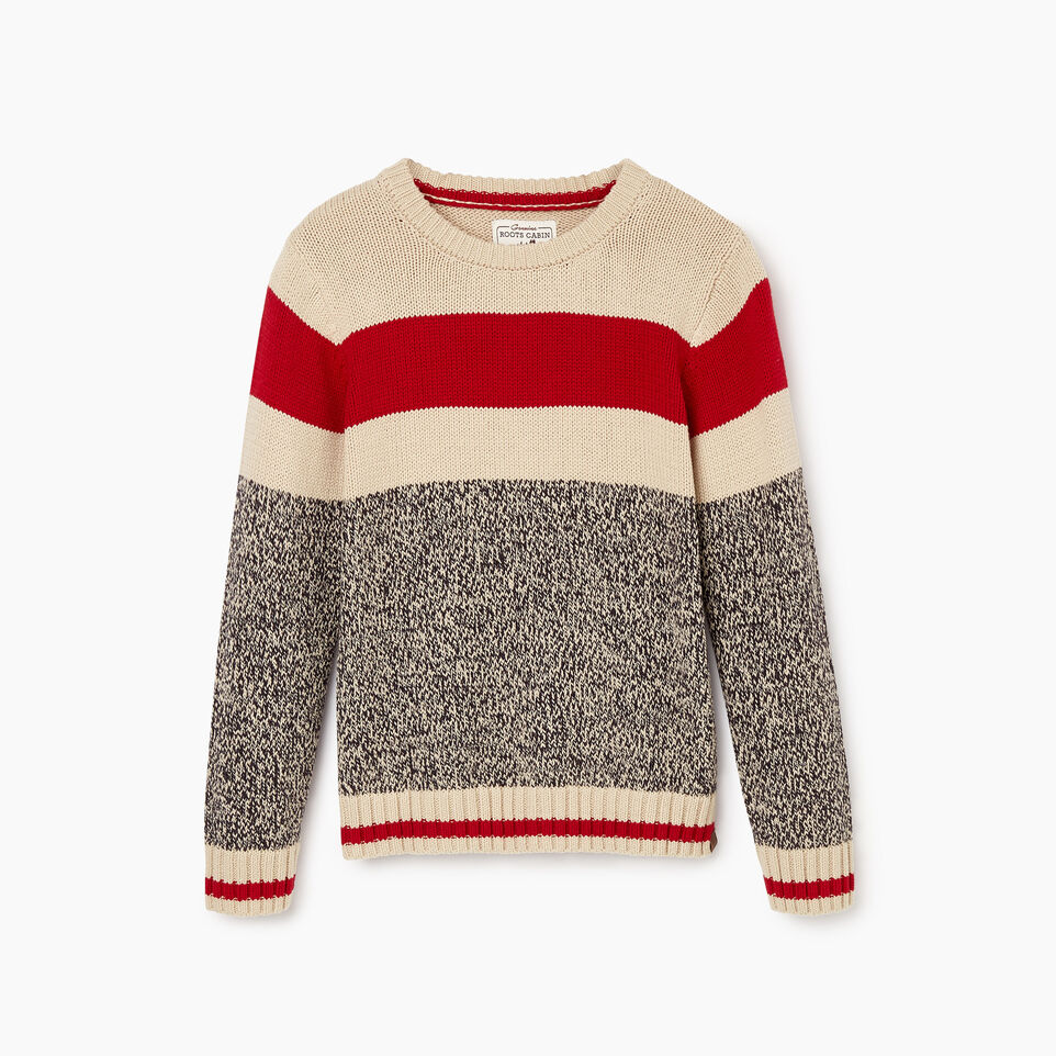 Roots-undefined-Boys Roots Cabin Crew Sweater-undefined-B