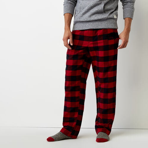 Roots-Winter Sale Bottoms-Inglenook Lounge Pant-Lodge Red-A
