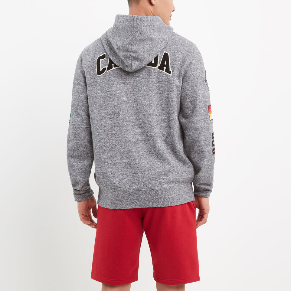 Roots-undefined-Patches Full Zip Hoody-undefined-D