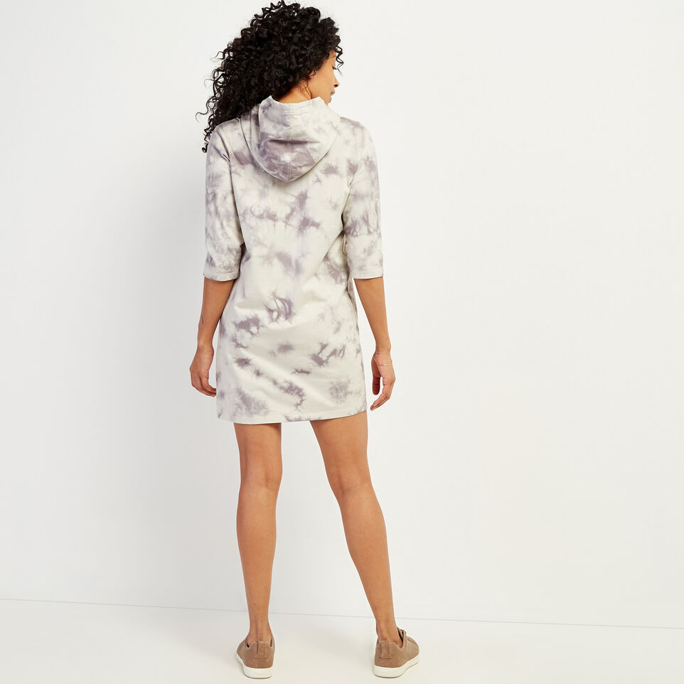 Roots-undefined-Eramosa Hooded T-shirt Dress-undefined-D