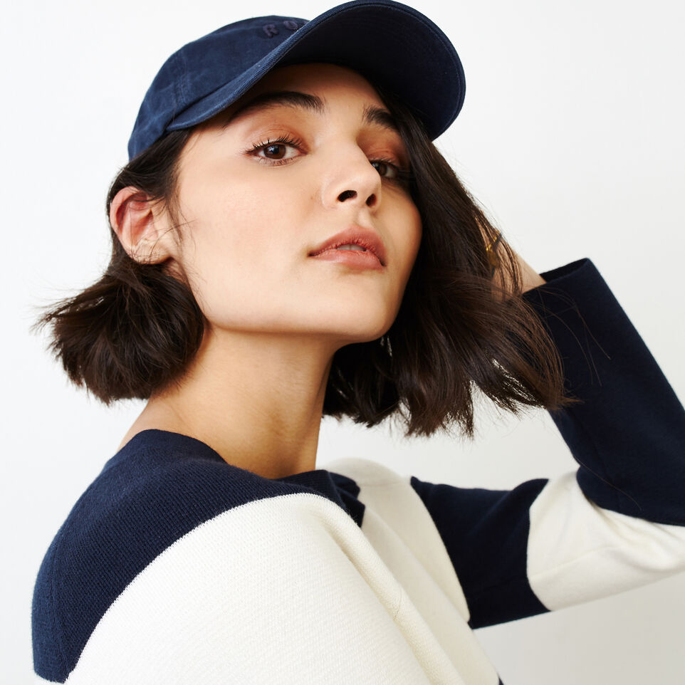 Roots-Women Categories-Hillsborough Sweater-Navy Blazer-E